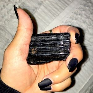 X-Large (THICK) Black Tourmaline Crystal #5